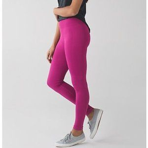 NWT Lululemon Zone In Tight In The Flow Magenta